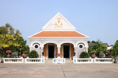 Thai church  style Christianity Stock Image