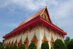 Thai church style Royalty Free Stock Photos