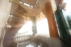 THai Church in Wat Pa Phu Kon ,Thailand. Stock Photography