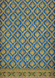 Thai classic pattern named Theppanom Stock Photography