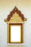 Thai classic style window arch Stock Images