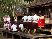 Thai Classical Dancing Royalty Free Stock Photos