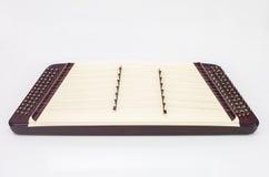 Thai classical music instrument Khim Stock Photo
