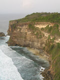 Thai Cliffs. Beautiful view of ocean waters pounding against the cliffs Royalty Free Stock Image