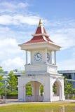 Thai clock tower. Thai style clock tower at Phuket, Thailand Stock Image