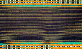 Thai cloth stripes Royalty Free Stock Photos