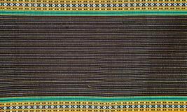 Thai cloth stripes Royalty Free Stock Photos