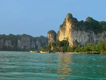 Thai coast. Southern Thailand near Krabi Stock Photos