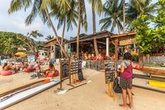 Thai Cocktail Bar on the beach