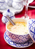 Thai Coconut Lemongrass Soup Royalty Free Stock Images