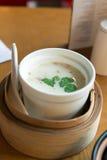 Thai coconut milk tomyam soup Royalty Free Stock Photos