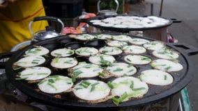 Thai Coconut Pudding Kanom Krok Stock Photo