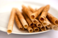 Thai coconut sticks Royalty Free Stock Photography
