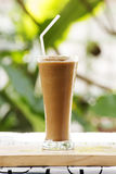 Thai Coffee smoothie Stock Images