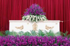 Thai coffin Stock Photo