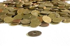Thai coin Royalty Free Stock Image