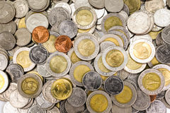 Thai coins Royalty Free Stock Images