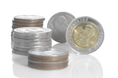 Thai coins. Stock Photography