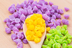 Thai colorful sweet Stock Photography