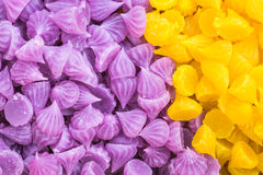 Thai colorful sweet Royalty Free Stock Photos