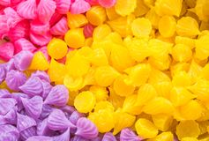 Thai colorful sweet Royalty Free Stock Image