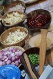 Thai condiment Stock Photo
