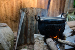 Thai cook Royalty Free Stock Photography