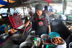 Thai cooking place Royalty Free Stock Photography