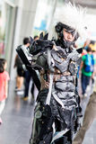 Thai cosplayers dress as the characters from cartoon and game Royalty Free Stock Photo