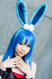 Thai cosplayers dress as the characters from cartoon and game Royalty Free Stock Photography