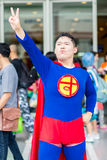 Thai cosplayers dress as the characters from cartoon and game Stock Photo