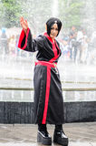 Thai cosplayers dress as the characters from cartoon and game in Japan festa in Bangkok Royalty Free Stock Image