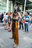 Thai cosplayers dress as the characters from movie  Royalty Free Stock Photos