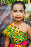 Thai costume girl Stock Photography