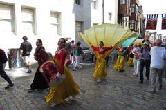 Thai costumes in Edinburgh Stock Photo
