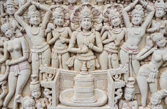 Thai Crafted Sculpture Royalty Free Stock Images