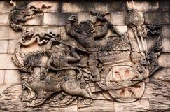 Thai craftsmanship Royalty Free Stock Images