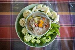 Thai curd dip Royalty Free Stock Photo