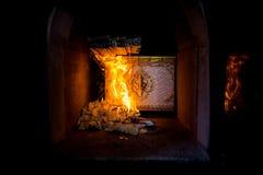 Thai cremation ceremony Royalty Free Stock Image