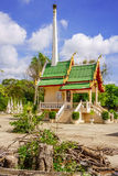 Thai crematorium building Stock Photography