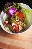 Thai Crispy Duck Salad Stock Image