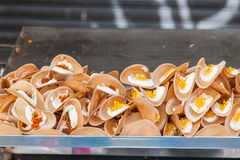 Thai crispy pancake Stock Image