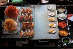 Thai crispy pancake Stock Photo