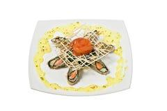 Thai cuisine. On a platter Stock Images
