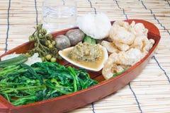 Thai cuisine nam prik Royalty Free Stock Photo