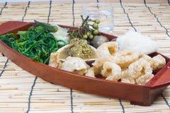 Thai cuisine nam prik Stock Photos