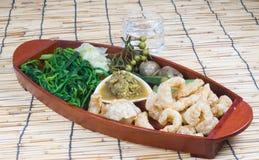 Thai cuisine nam prik Stock Image