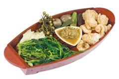 Thai cuisine nam prik Stock Images