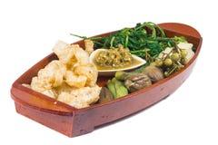 Thai cuisine nam prik Stock Photo