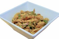 Thai cuisine spicy pork salad, Moo Nam Tog Stock Images